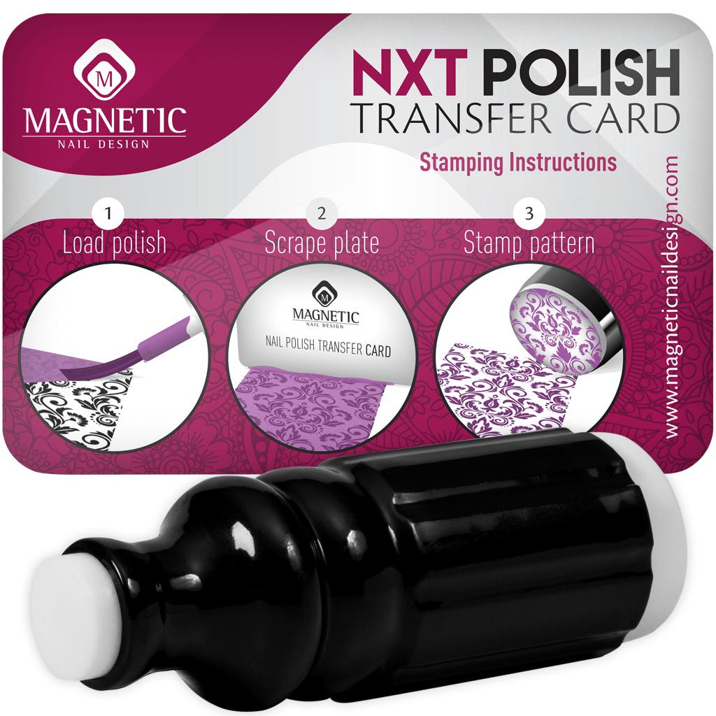 Magnetic Stamp & Scraper