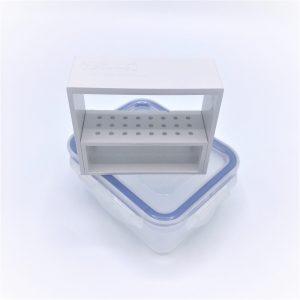 Frezenstandaard+box Busch Steri-Safe