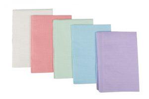 Dental towels, plastic/tissue 125st