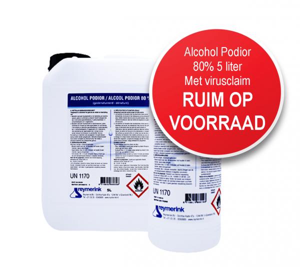 Alcohol Podior 80%, (bitrex denaturatie) 14331N