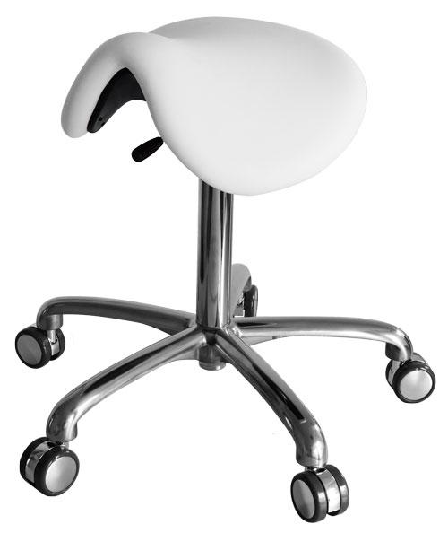 Werkstoel/Tabouret ponyzit zonder rugleuning