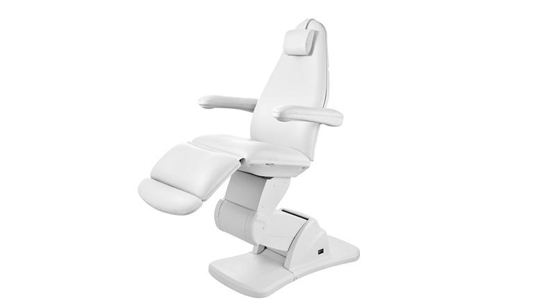 Behandelstoel model Front, 4 motoren met kantelfunctie