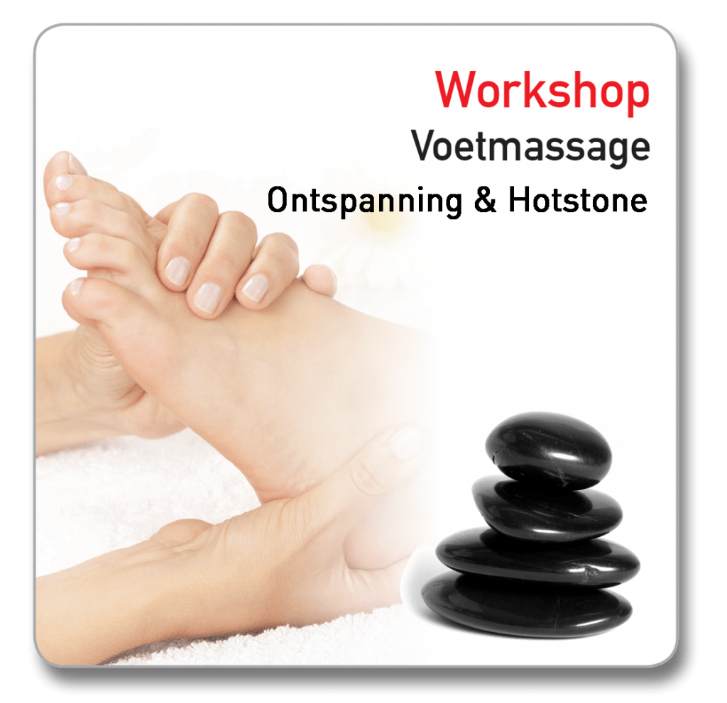 workshop voetmassage hotstone