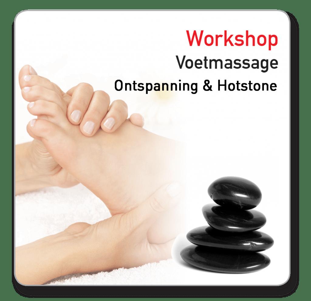 workshop voetmassage hotstone