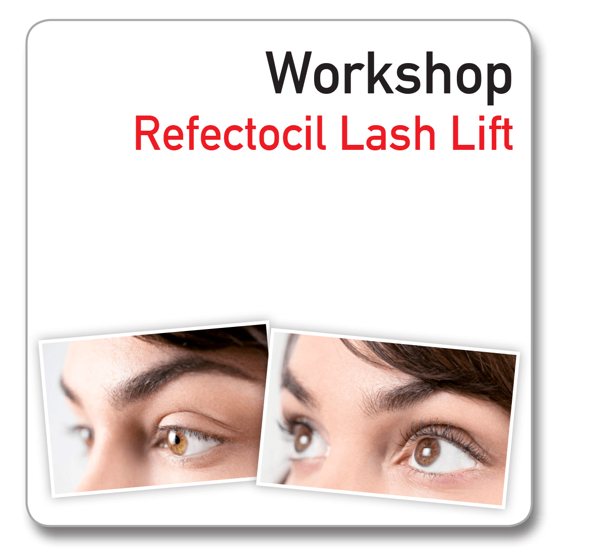 Workshop Refectocil lash Lift