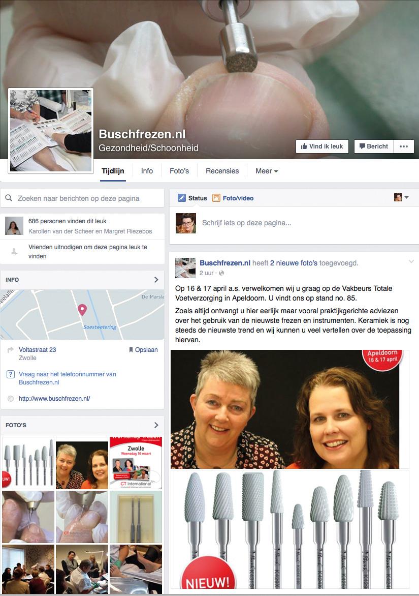 Facebook Busch Frezen