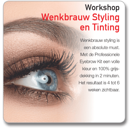 Wenkbrauw Styling Tinting