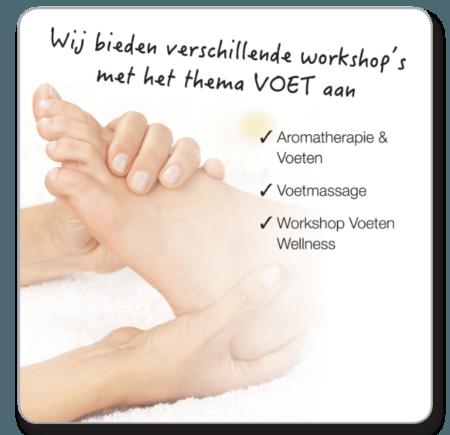 Voet onderbeen massage