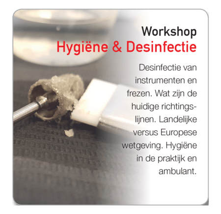 Workshop Basisprincipes Hygiëne Desinfectie