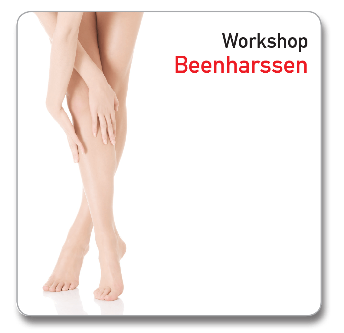 Workshop Ontharen beenharssen