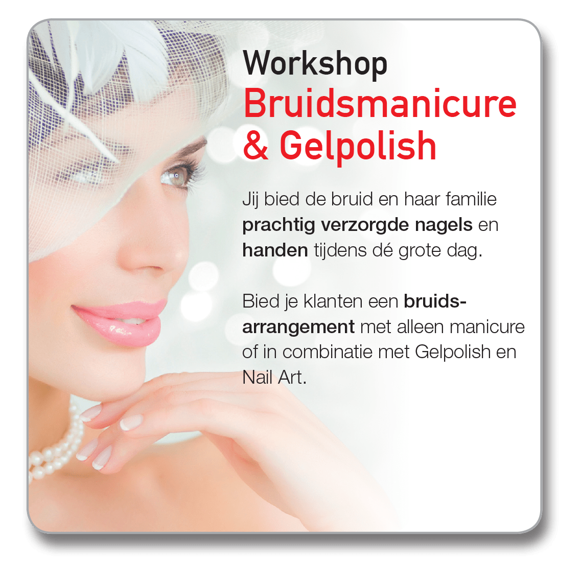 Workshop Bruidsmanicure