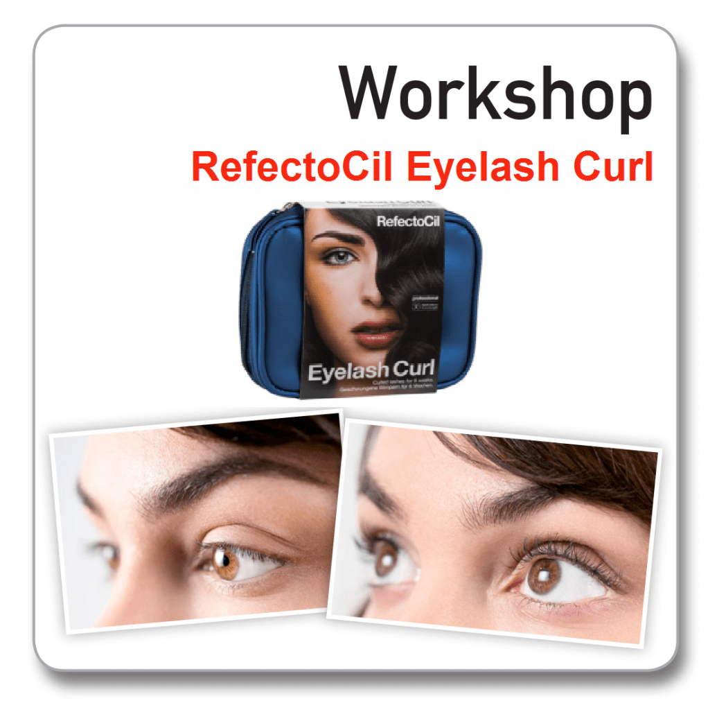 Workshop refectocil eyelash curl