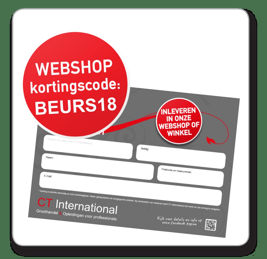 Webshop CT International Beurs korting